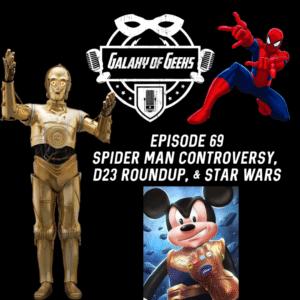Spider-man Disney Star Wars